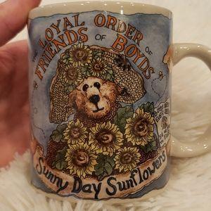 Boyds Bears Sunny Day Sunflower Mug